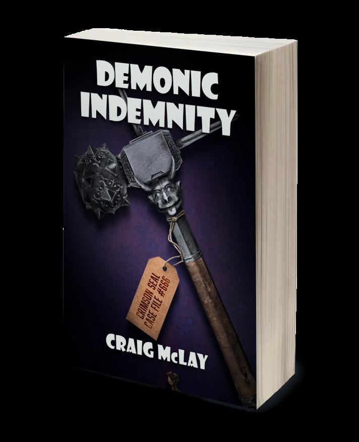 CraigMcLay_Demonic Indemnity_PaperbackMockup